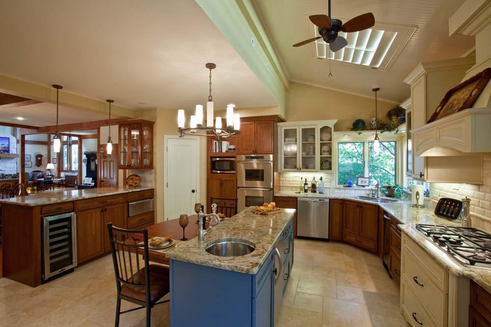 Natural-stone-floor-Interior-design-Haslet-TX-76052