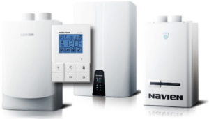 Program your Navien tankless water heater system wile on vacation