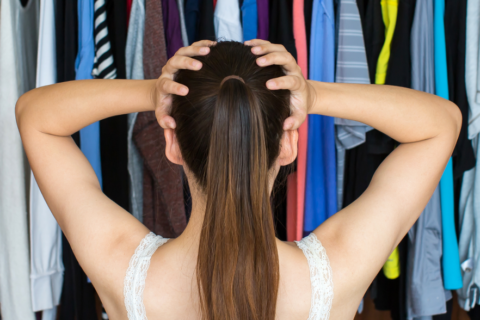 Conquering the Closet Clutter