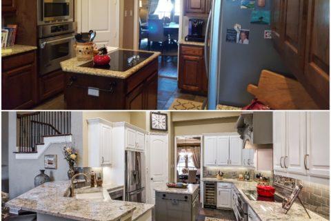 Three Unforgettable Kitchen Facelifts