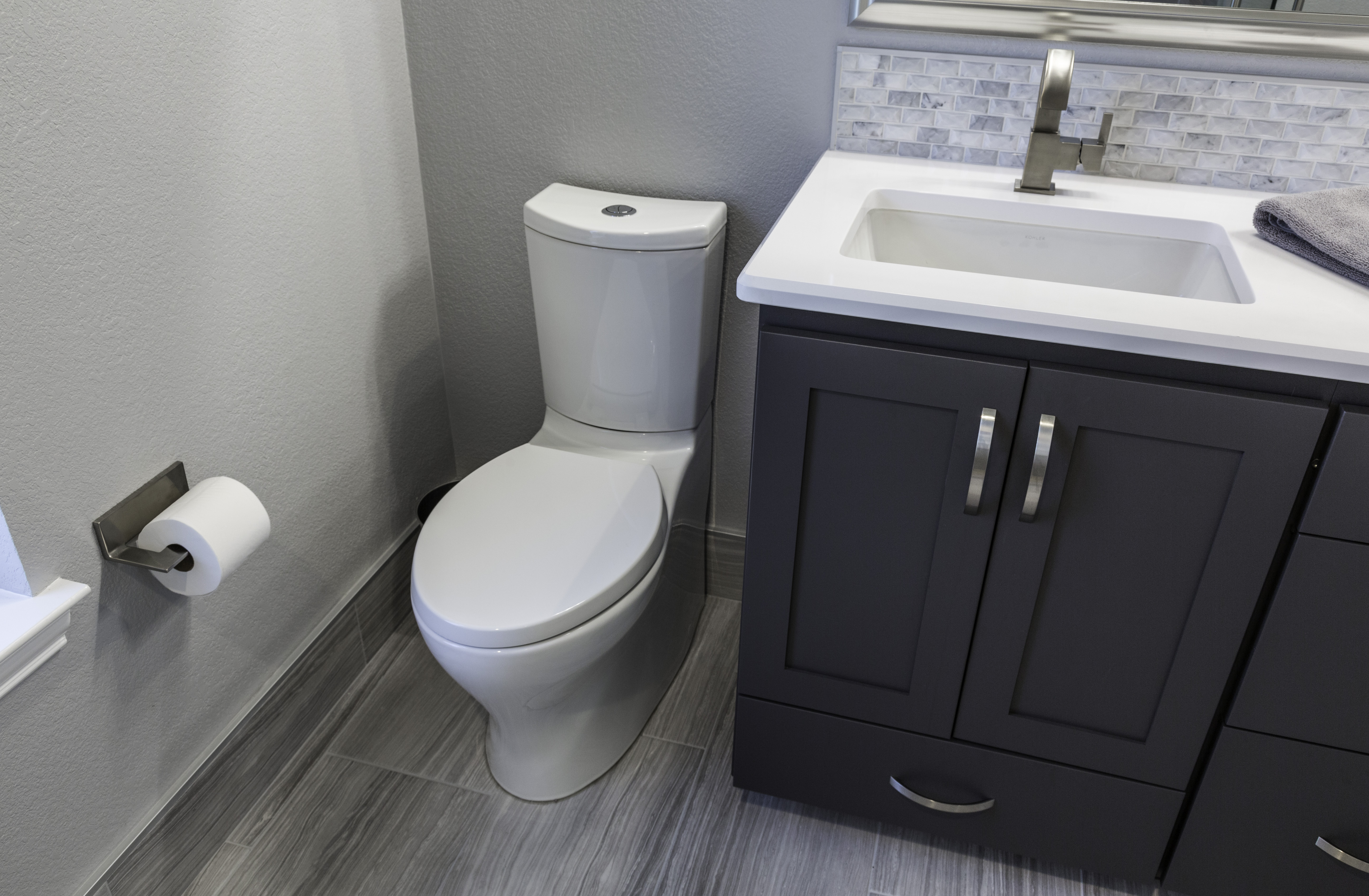 toilet with two flush options soft flush hard flush water saving