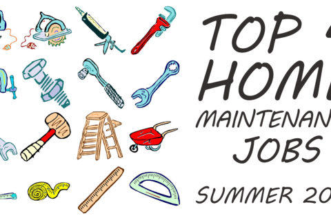 4 Home Maintenance Jobs in Summertime with the Best Value