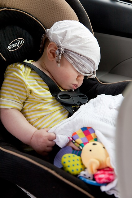 Car seat history of baby safety month