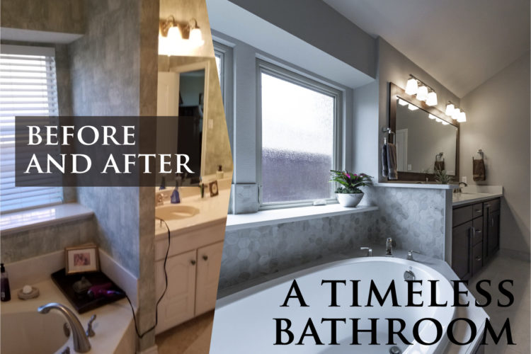 Before and After: Timeless Bathroom Design