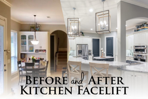 [Before and After] Kitchen Facelift in Keller, Texas