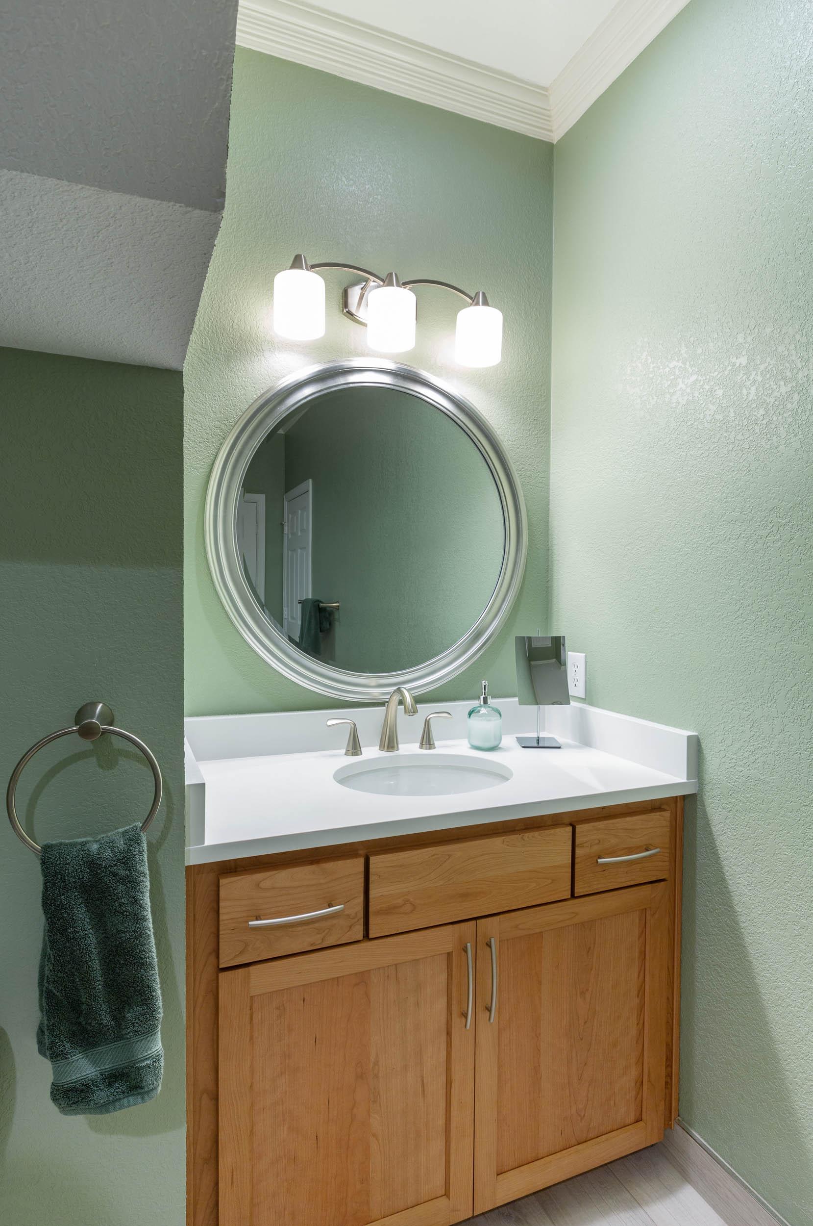 best lighting for bath remodel keller tx