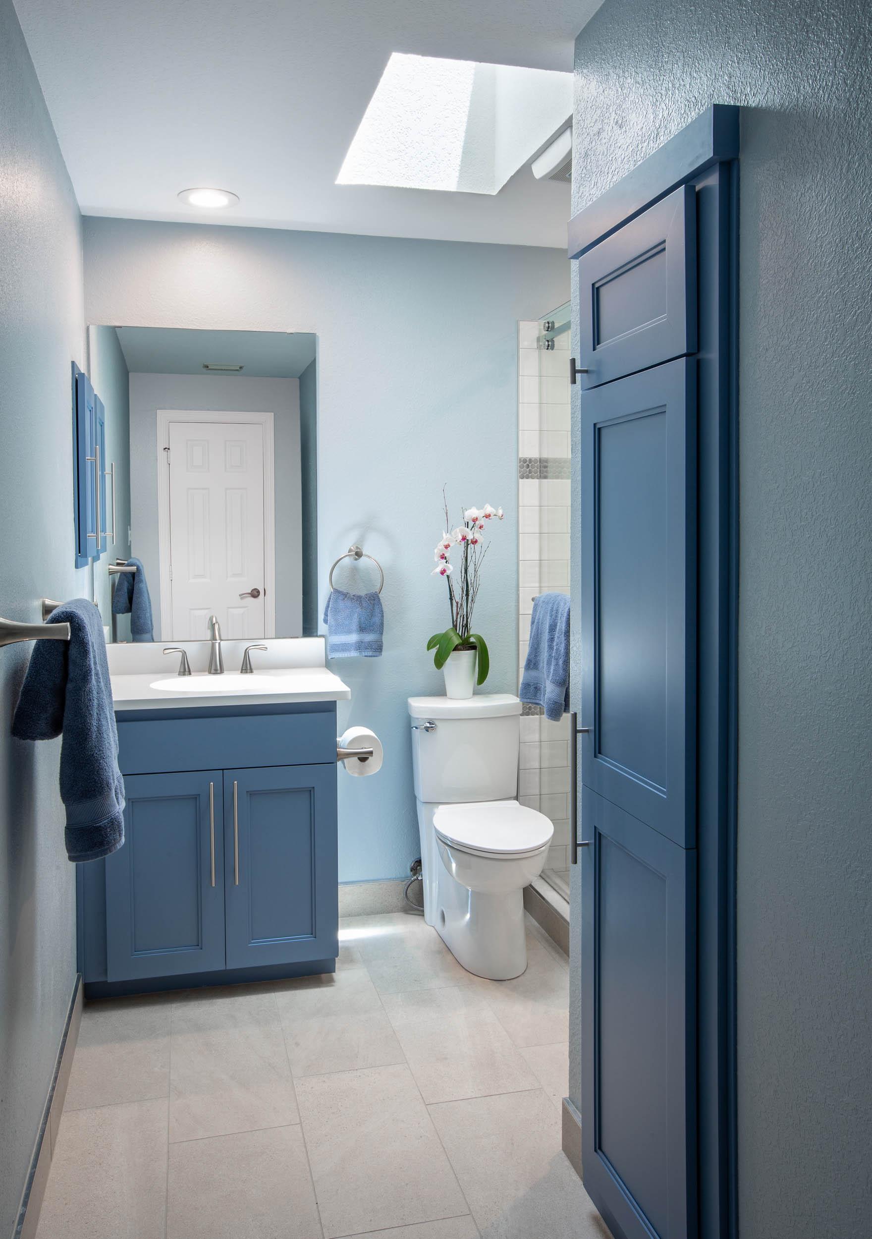 skylight lighting bathroom remodel trophy club tx