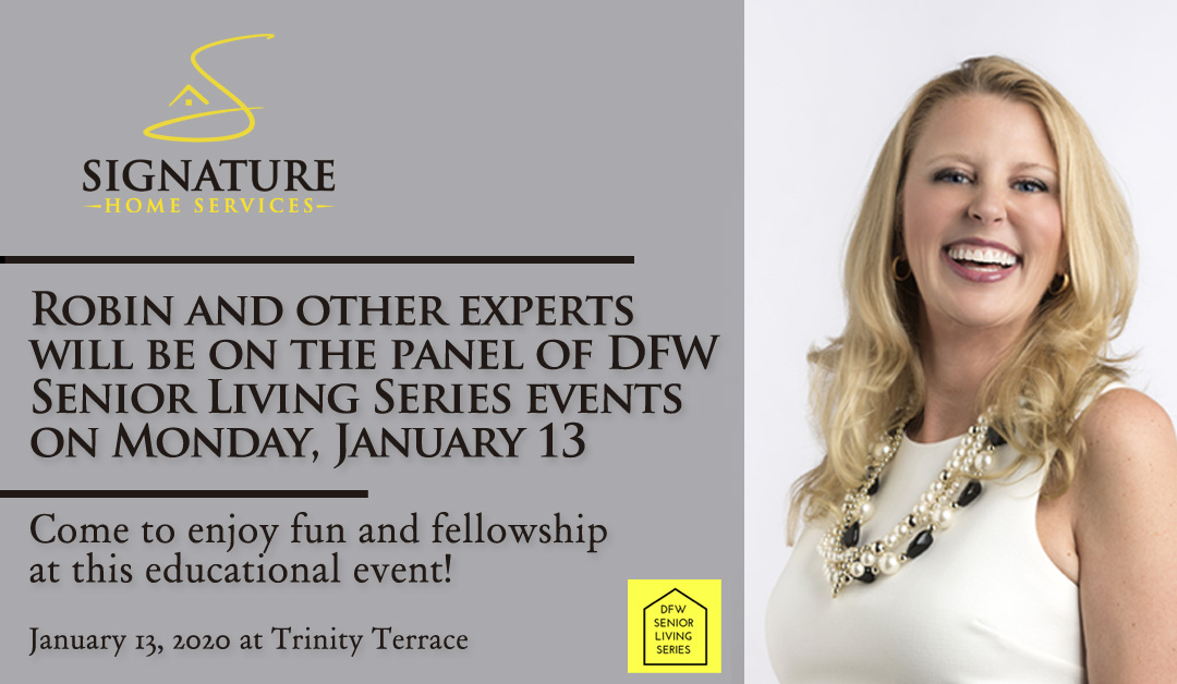 robin burrill speaking DFWSLS 2020 january in fort worth senior living series