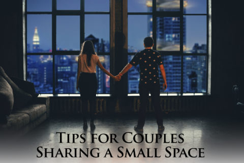 Tips for couples sharing a small space (and how to make life easier)