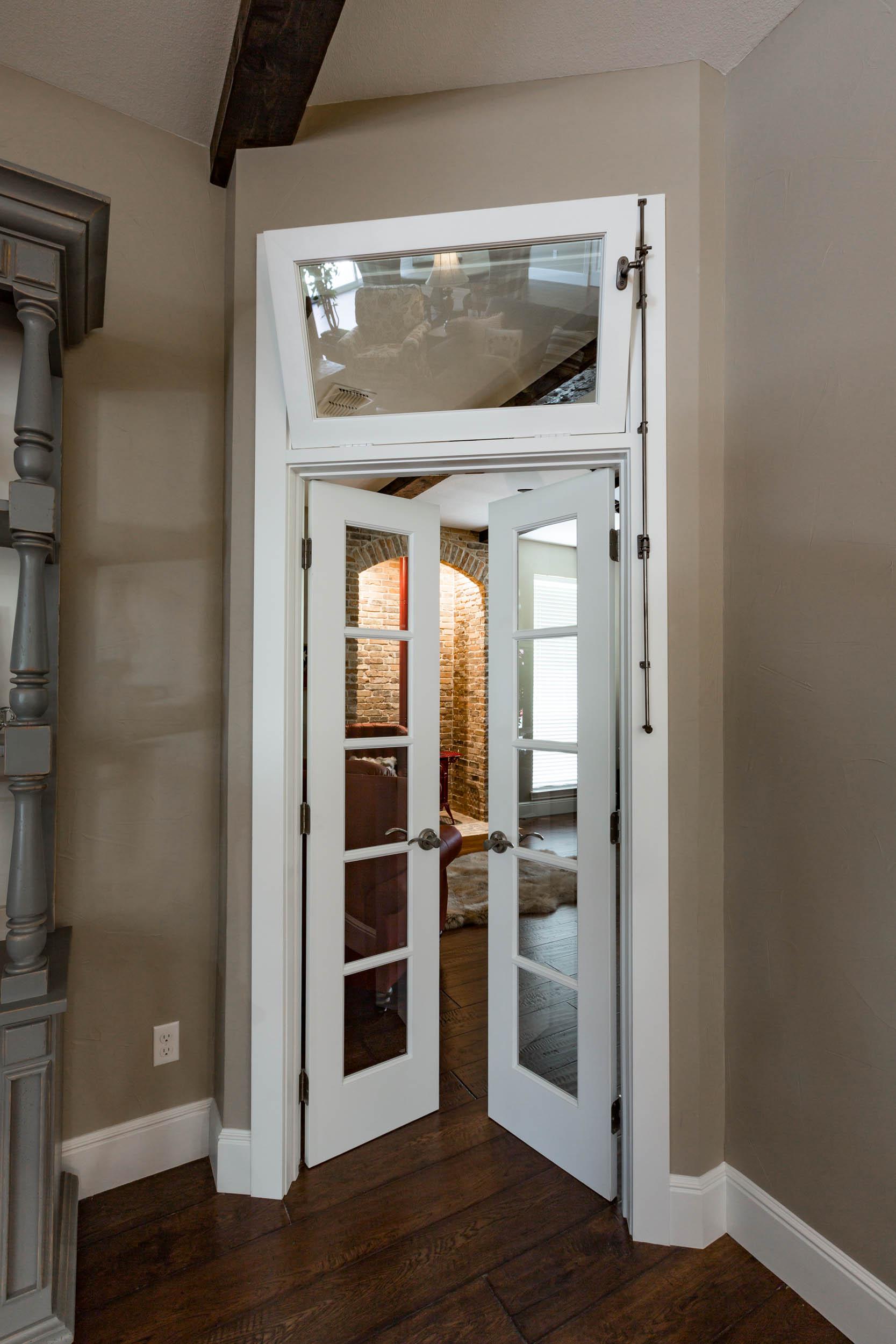 custom vitrine french door