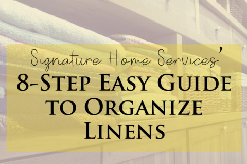 8-Step Easy Guide to Organize Linens