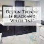 "Design Trends: Is Black and White ""In?"""