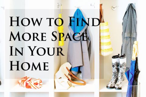 How to Find More Space In Your Home