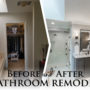 Bathroom Remodel Before and After: Making Room for the Best Walk-In Shower