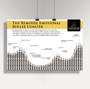 Remodel roller coaster infographic