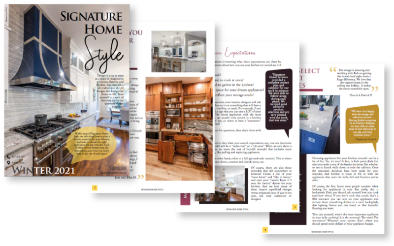Signature Home Style Winter 2021 Preview