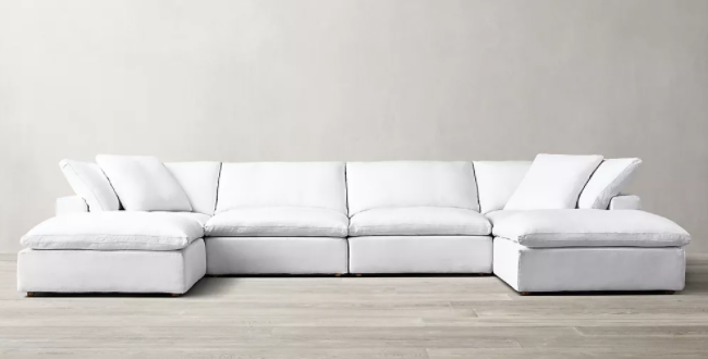 Sofa collection called Cloud modular by RH