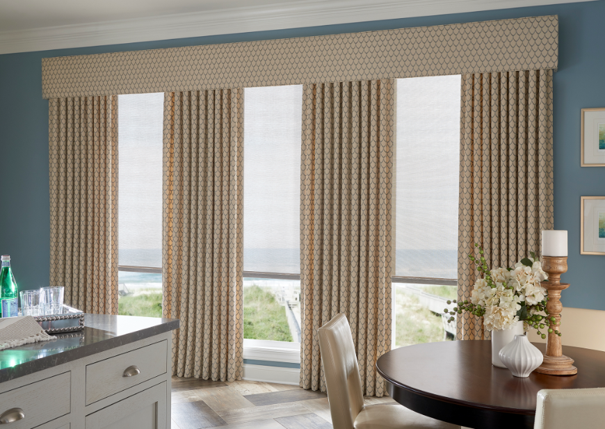 Graber blinds and curtains