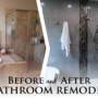[BEFORE/AFTER] Luxurious Shower and Bath Space