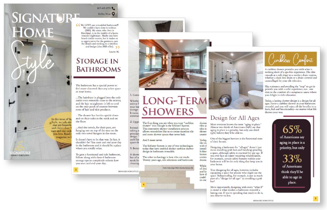 Signature Home Style design magazine free download