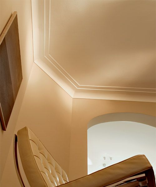 crown molding with lighting