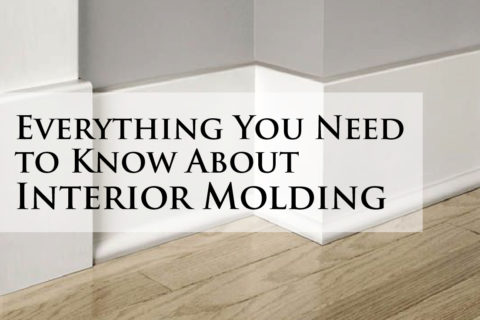Everything You Need to Know About Interior Molding
