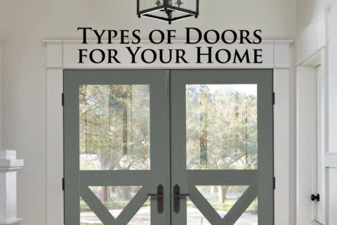 Types of Doors for Your Home