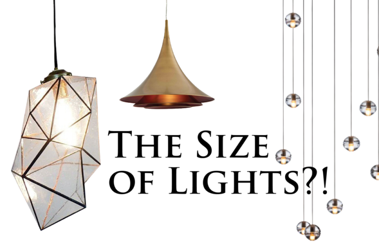 The Size of Lights?!