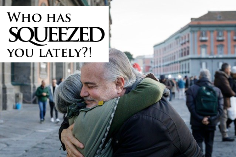 Who has squeezed you lately?!