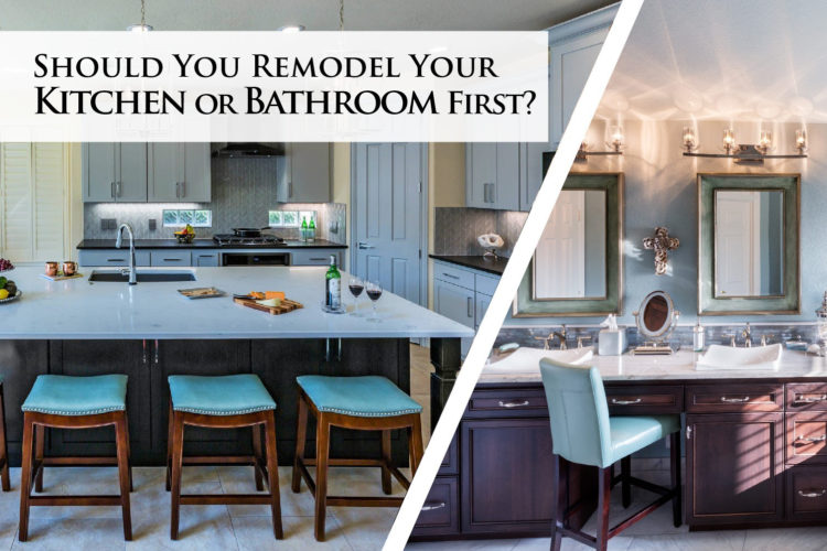 Should You Remodel Your Kitchen or Bathroom First?